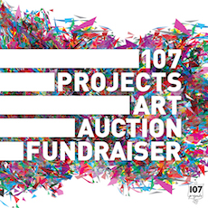 107 Projects Art Auction Fundraiser